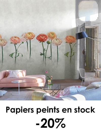 Papiers peints en stock -20%
