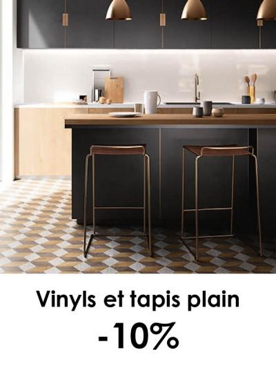 Vinyls et tapis plain -10%